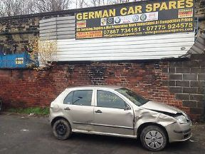 2006 SKODA FABIA 1.2 6Y BME ENGINE GSB GEARBOX DOOR SUSPENSION BREAKING SPARES